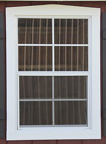14x27 inch window on outdoor shed in KY