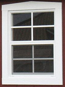 21x27 inch window with trim