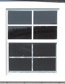 24x30 inch window shed option