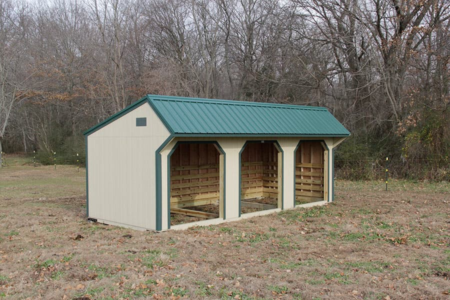 Horse-run-in-shed-and-chicken-coop-designs in ky