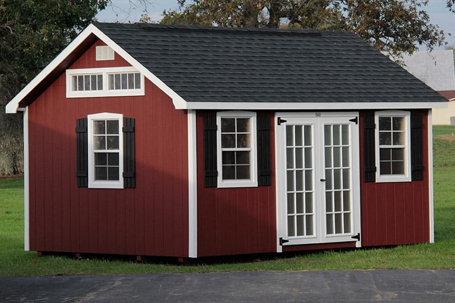 Gallery of The Lancaster Style Shed from Overholt in