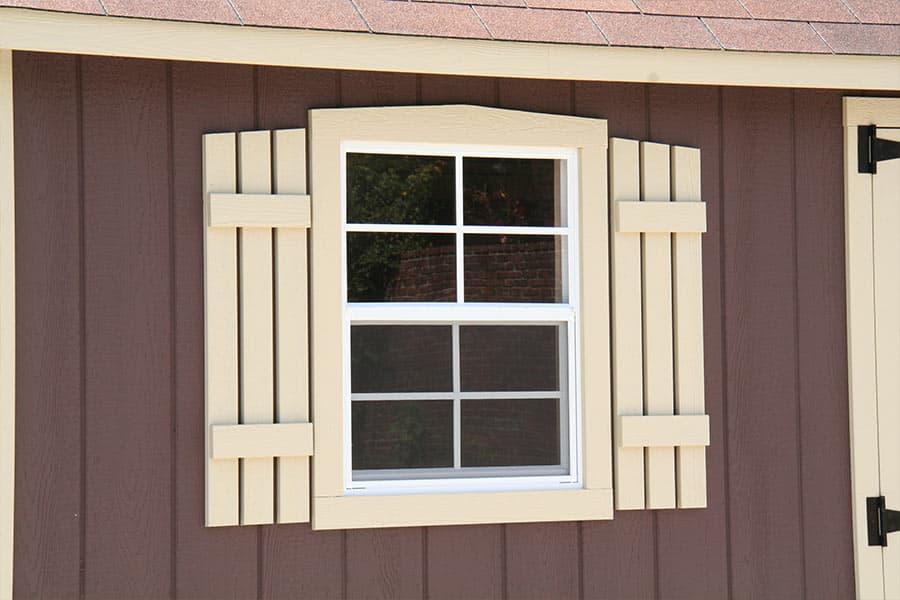 storage shed window